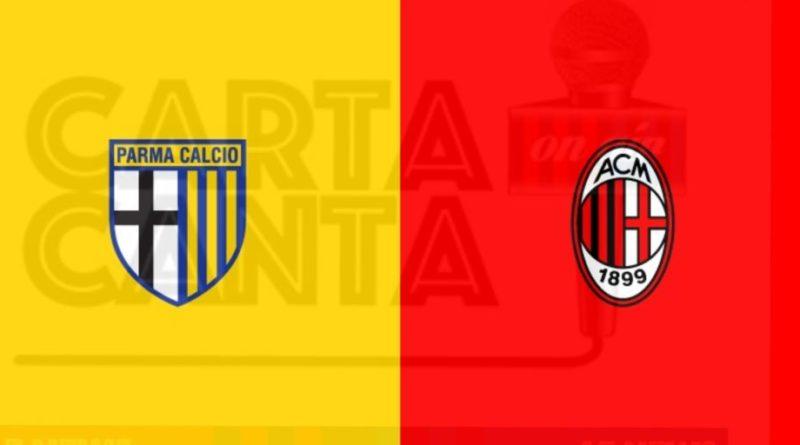Le PAGELLE rossonere di Parma-Milan 1-3. 30° GIORNATA SERIE A.