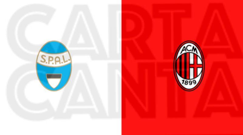 Le PAGELLE rossonere di Spal- Milan 2-2. 29° GIORNATA