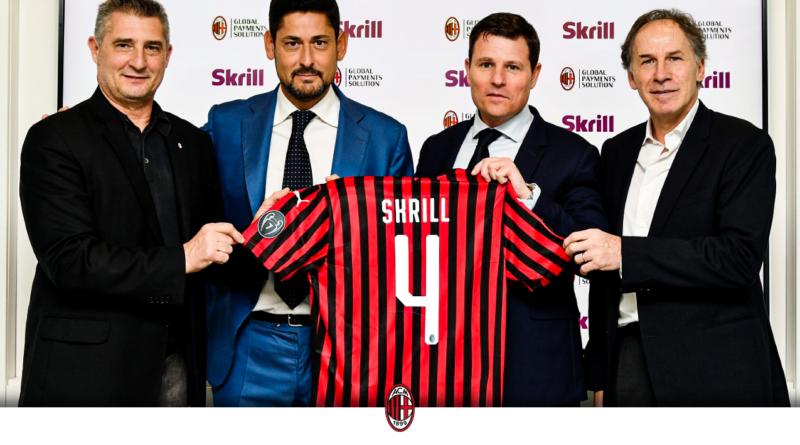 AC MILAN  e SKRILL: i dettagli della nuova PARTNERSHIP.