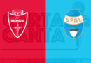 LE PAGELLE biancorosse di Monza-Spal 0-0. 1° GIORNATA SERIE B.