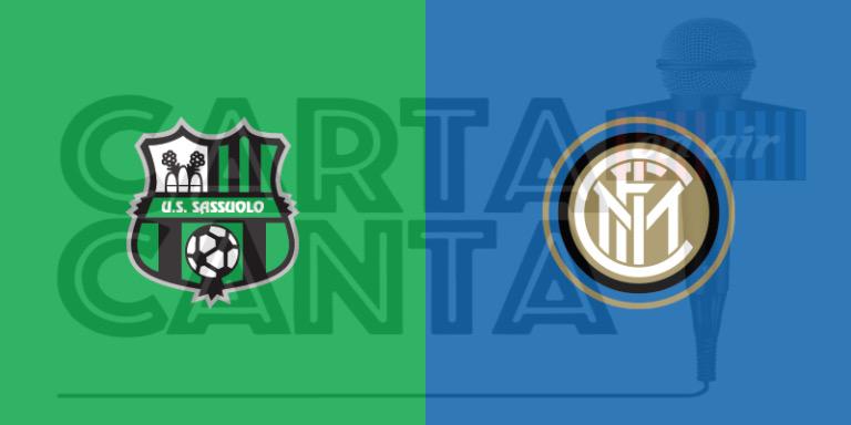 Le PAGELLE nerazzurre di Sassuolo-Inter 0-3. 9° GIORNATA SERIE A.