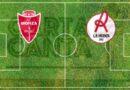LE PAGELLE biancorosse di Monza- Vicenza 1-1. RECUPERO 3°GIORNATA SERIE B