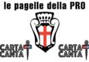 Le PAGELLE dei LEONI: Pro Vercelli – Carrarese  3-1 – 19° GIORNATA SERIE C.