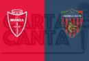 LE PAGELLE biancorosse di Monza- Cosenza 2-2. 18°GIORNATA SERIE B